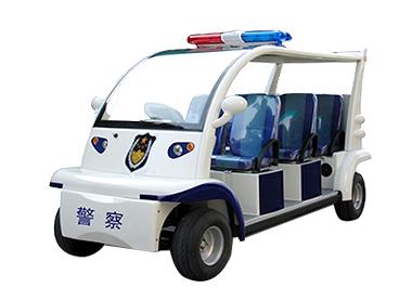 6座警用巡逻车