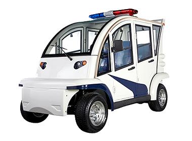 4座封闭式警用巡逻车