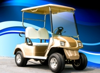2座高尔夫球车