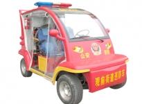 两座消防巡逻车