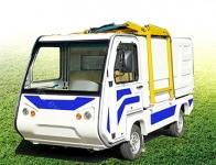 电动侧装式垃圾车