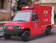 2座泡沫喷雾电动消防车